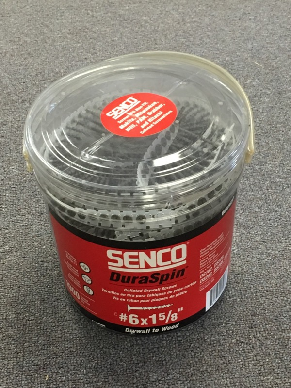 Senco - Collated Drywall Screws (1000 Ct) - 06A162P