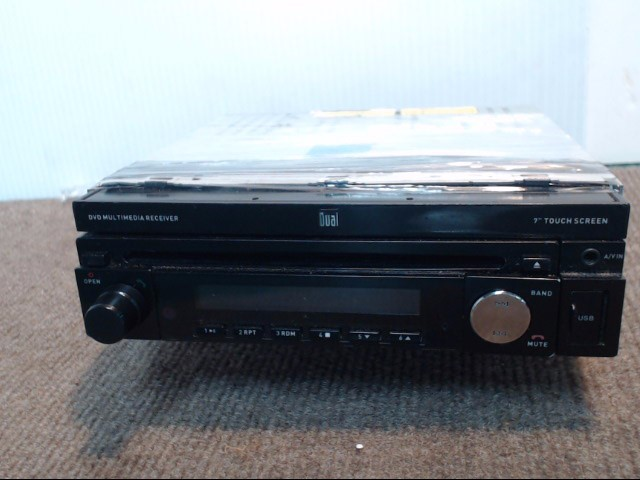 DUAL ELECTRONICS Car Audio XDVD110BT
