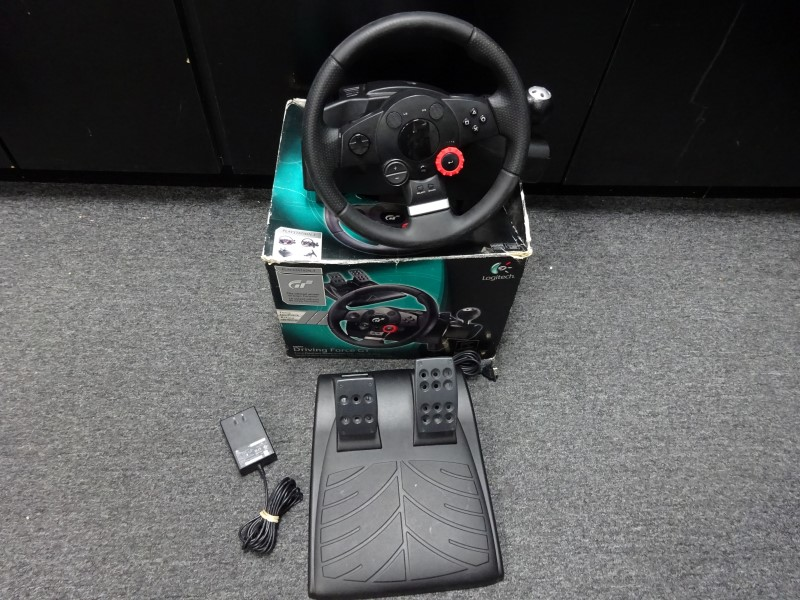 LOGITECH Video Game Accessory DRIVING FORCE GT