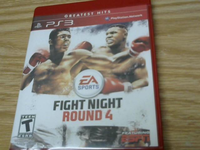SONY Sony PlayStation 3 Game FIGHT NIGHT ROUND 4