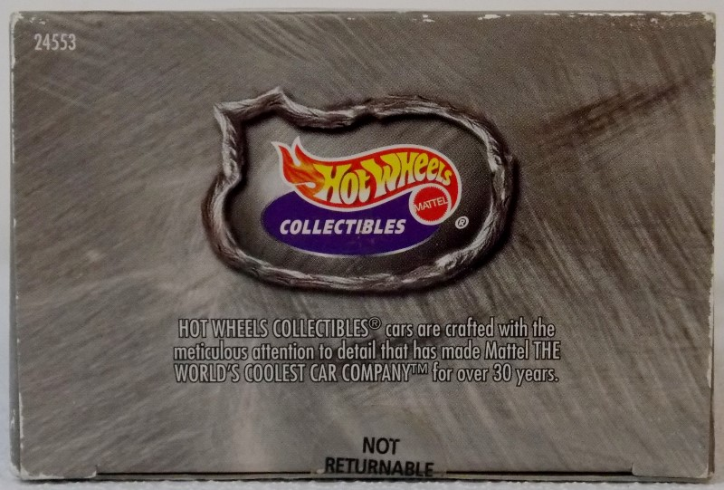 HOT WHEELS COOL 'N' CUSTOM CAR SET, LIMITED EDITION