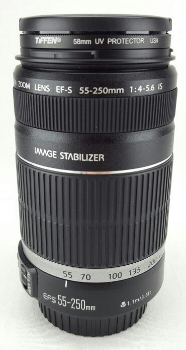 Low Shutter Count Canon Rebel T2i 18MP W/ 18-55mm, 55-250mm Lens and Tamrac Case