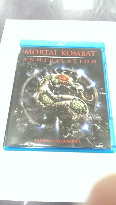 BLU-RAY MOVIE Blu-Ray MORTAL KOMBAT ANNIHILATION