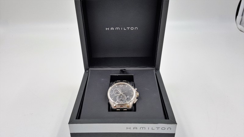Hamilton Jazz Master H326120 Stainless Sapphire Crystal Men's watch