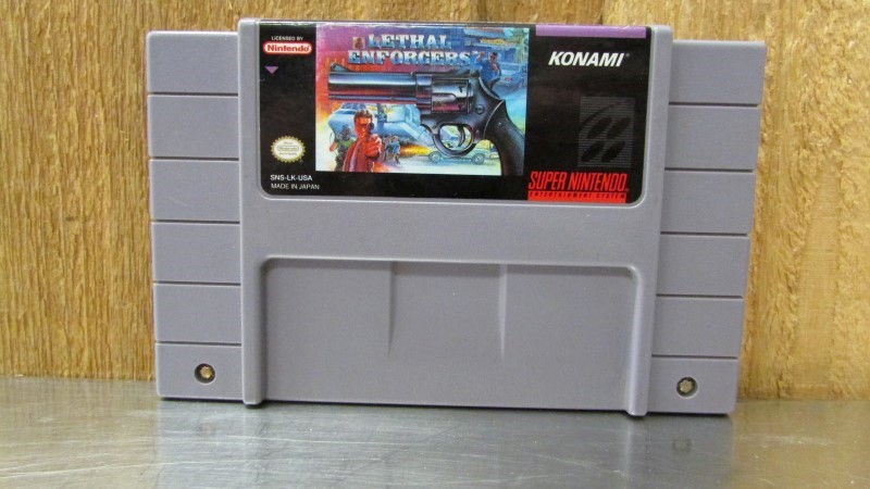 NINTENDO Nintendo SNES Game LETHAL ENFORCERS