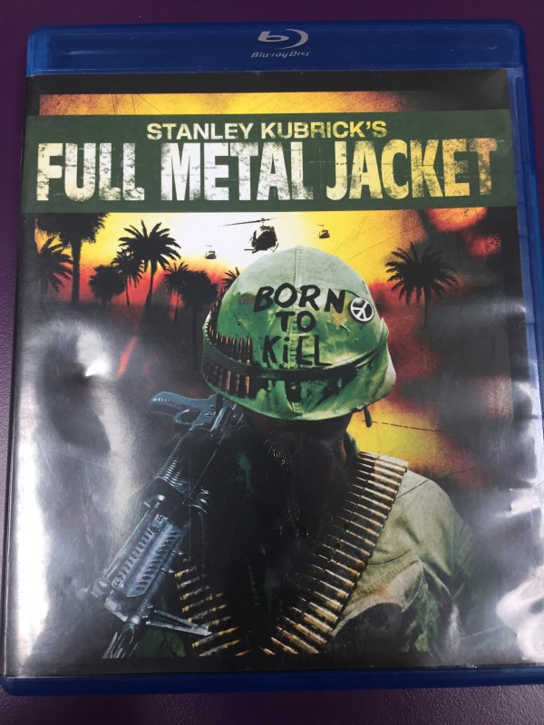 FULL METAL JACKET BLU-RAY MOVIE