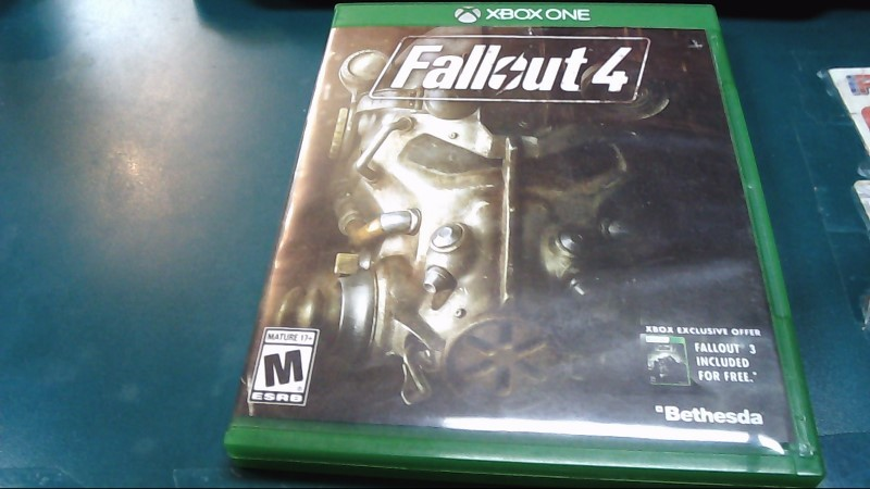 Microsoft XBOX One Game FALLOUT 4