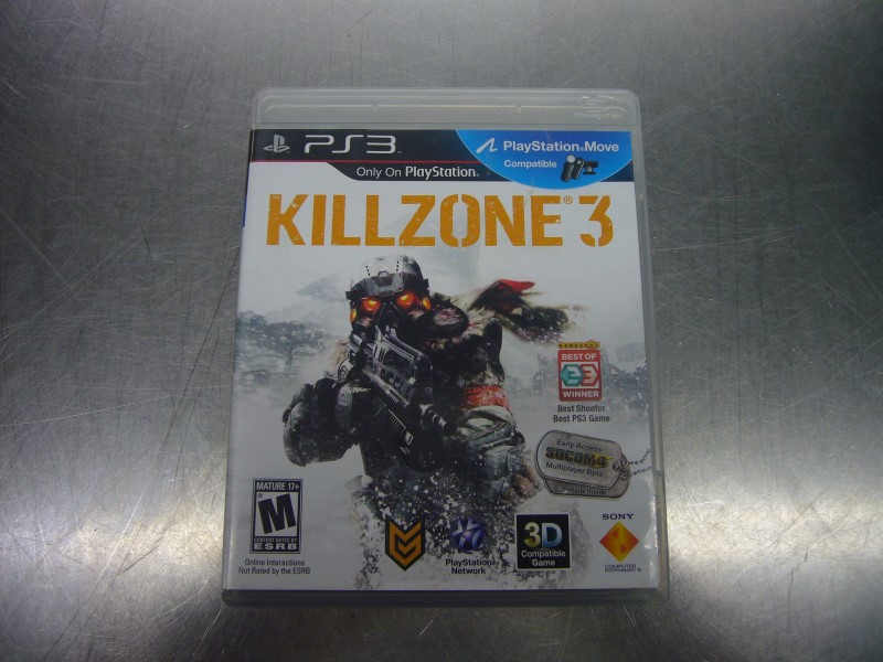 SONY PlayStation 3 Game KILLZONE 3