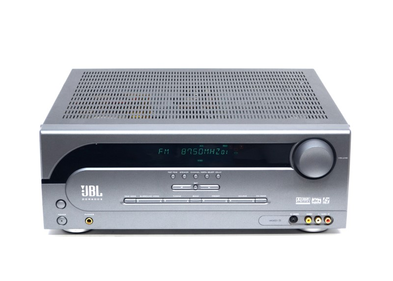 JBL DCR600II Surround Sound Home Theater Receiver with AM/FM>
