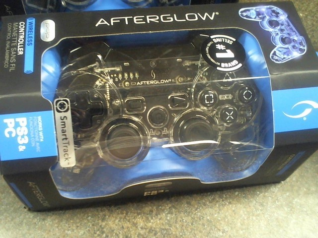 AFTERGLOW Video Game Accessory PS3 CONTROLLER