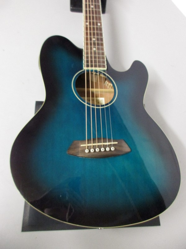 IBANEZ TCY10E-TBS TALMAN ACOUSTIC/ELECTRIC GUITAR
