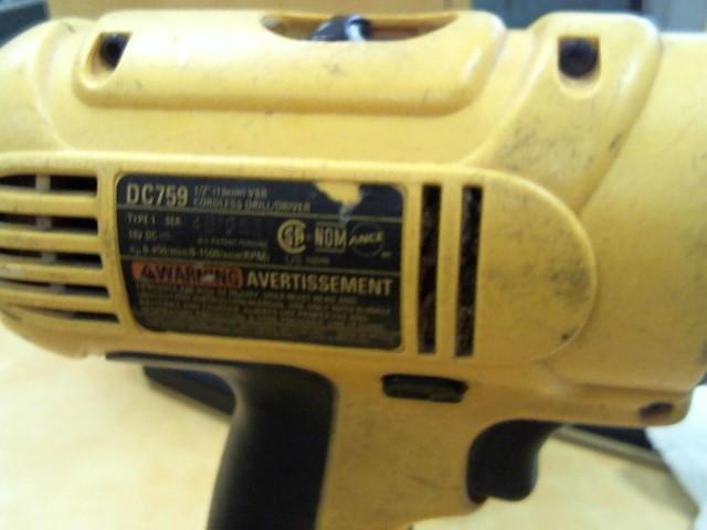 DEWALT Cordless Drill DC825 & DC759