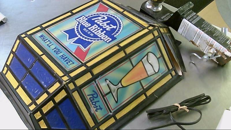 PABST BLUE RIBBON Sign BEER SIGN