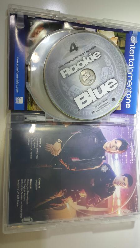 Rookie Blue Season 1 on DVD
