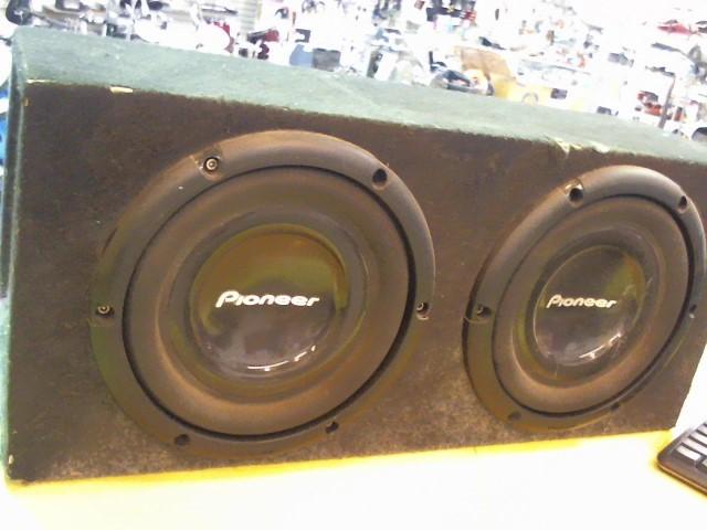 "PIONEER ELECTRONICS Car Speakers/Speaker System 10"" SUBWOOFER IN BOX"