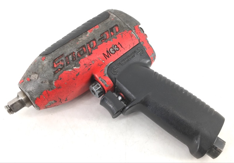 """SNAP ON MG31 1/4"""" DRIVE AIR IMPACT WRENCH RED"""
