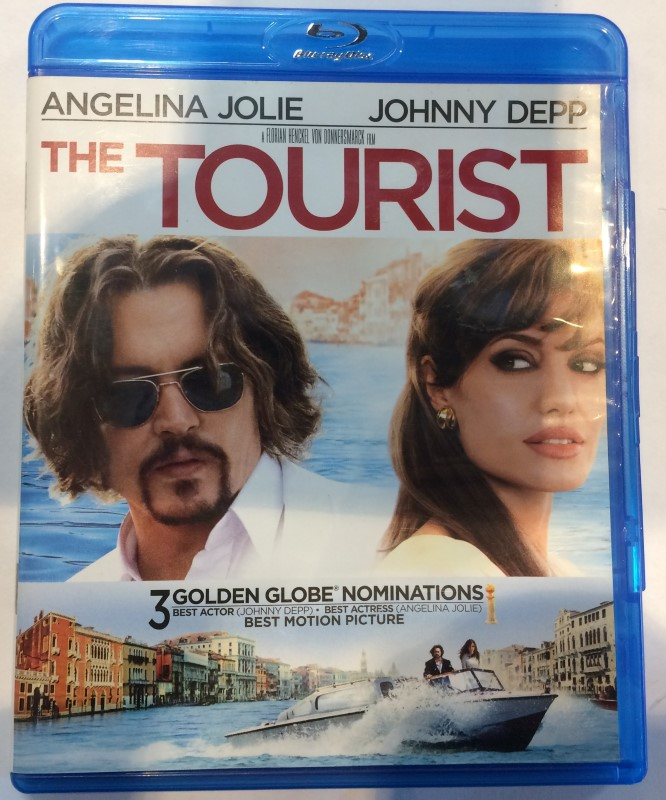 BLU-RAY MOVIE THE TOURIST