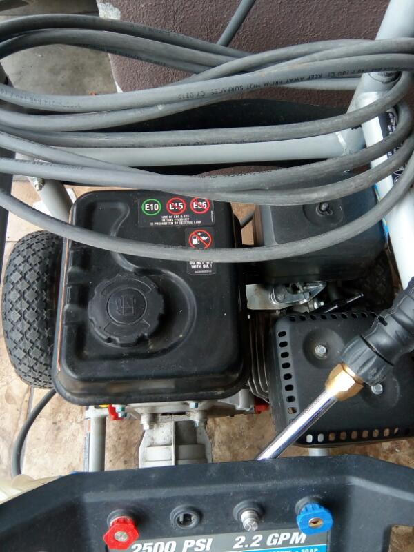 POWERSTROKE Pressure Washer PS80522