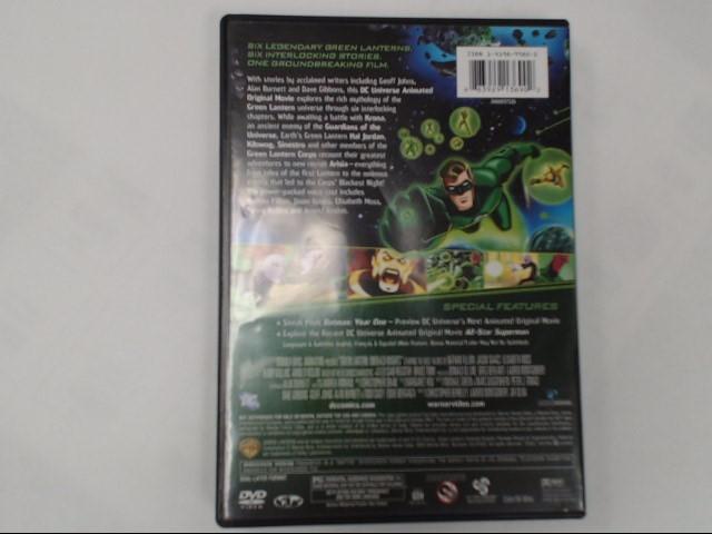 DVD MOVIE GREEN LANTERN EMERALD KNIGHTS