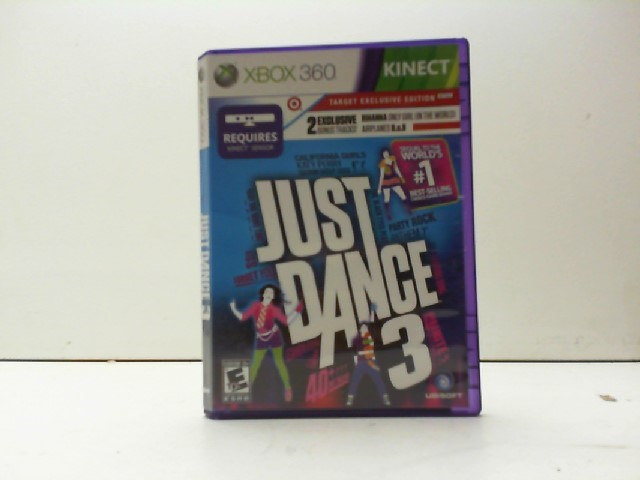 MICROSOFT Microsoft XBOX 360 Game JUST DANCE 3
