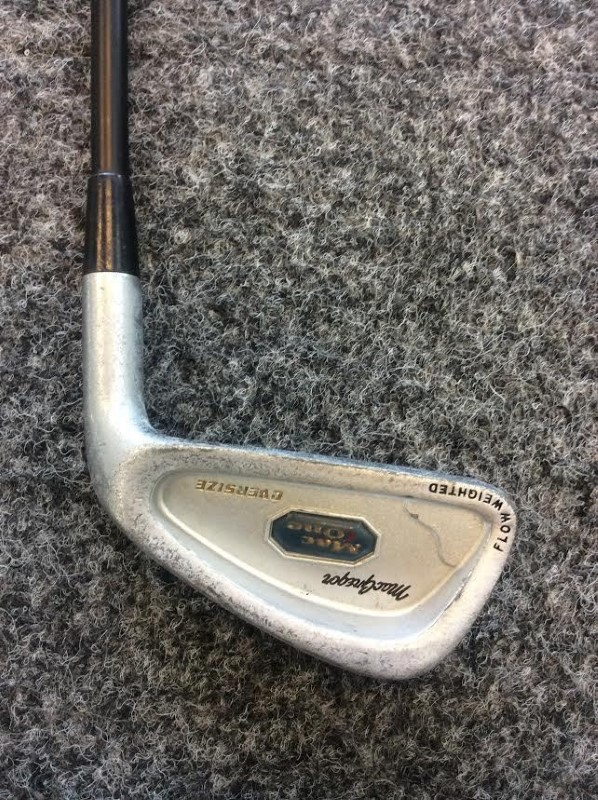 MacGregor Mac One Oversize Flow weighted 4 Iron Titan Graphite Shaft Medium Firm