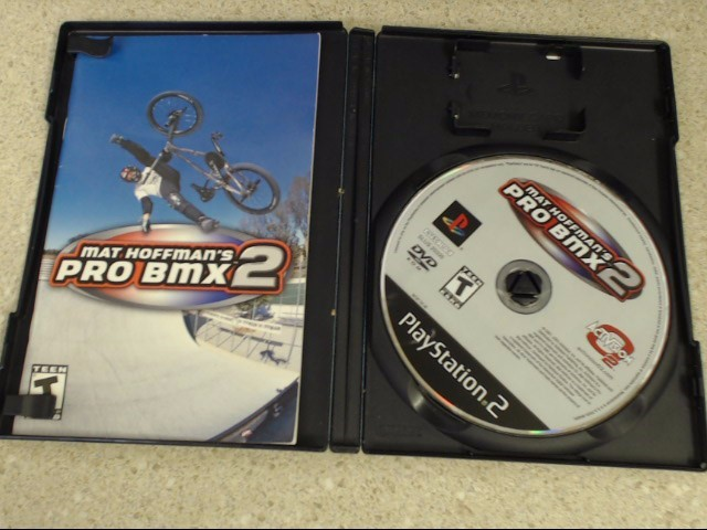 MAT HOFFMAN'S PRO BMX 2 - PS2 GAME