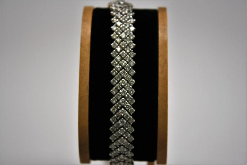 DIAMOND BRACELET 14K YELLOW GOLD
