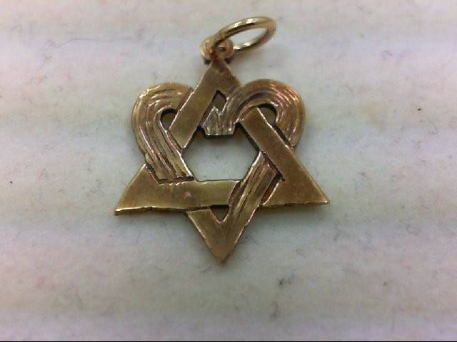 Gold Pendant 14K Yellow Gold 1.5g