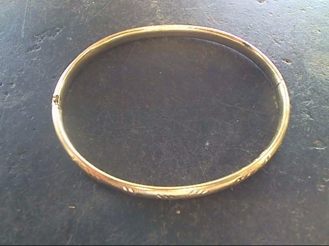 Gold Bracelet 10K Yellow Gold 3.1dwt