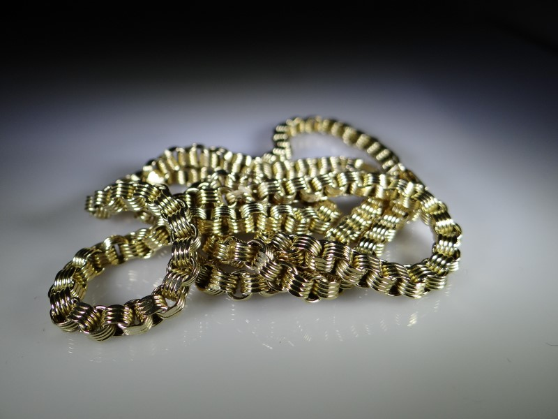 Gold Link Chain 10K Yellow Gold 14.9g