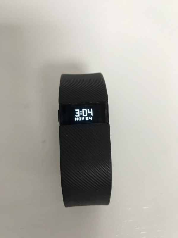FITBIT CHARGE WIRELESS ACTIVITY WRISTBAND FB404 *BLACK, LARGE*
