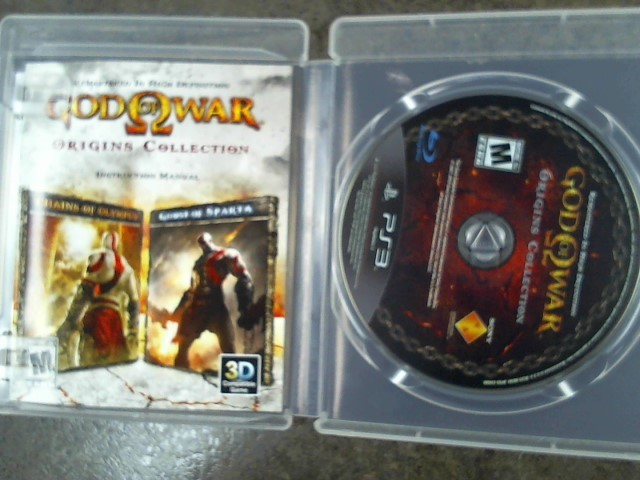 PS3 GOD OF WAR ORIGINS COLLECTIOn