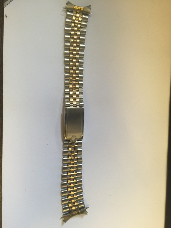 ROLEX Watch Band TWO TONE DATEJUST JUBILEE BAND