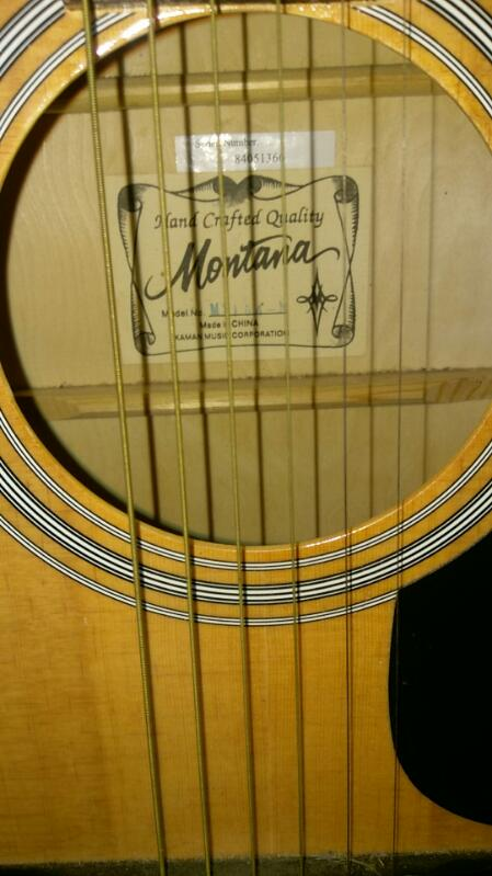 MONTANA GUITAR MT104-N