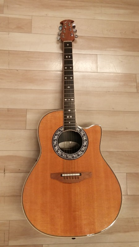 OVATION Electric-Acoustic Guitar 1777