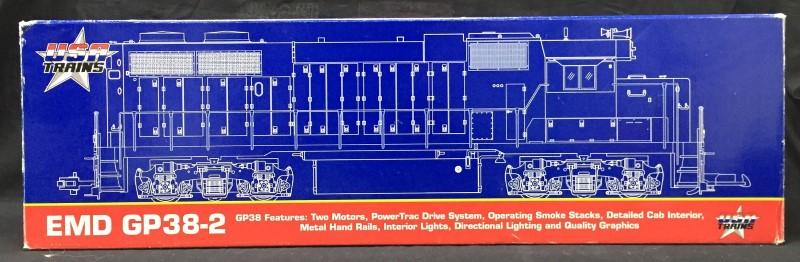 USA TRAINS Model G Scale Train TRAINS GP38-2
