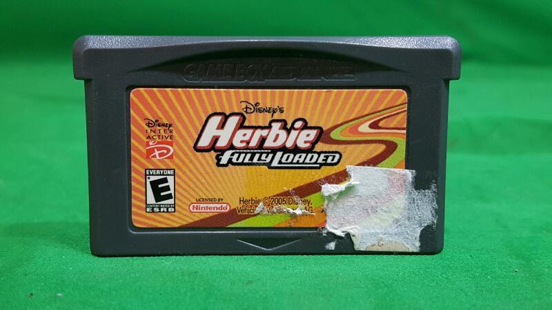 NINTENDO Nintendo GBA Game HERBIE FULLY LOADED