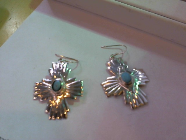 Silver Earrings 925 Silver 9.5g