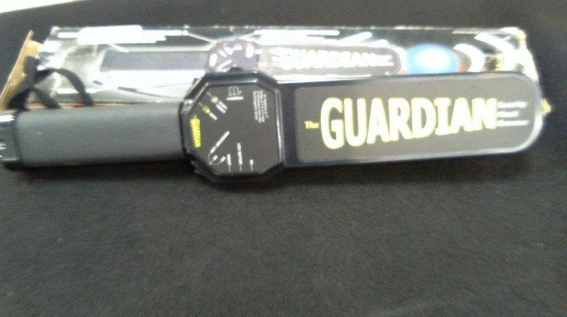 THE GUARDIAN SECURITY METAL DETECTOR S\NV M\THE-GUARDIAN
