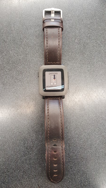 PEBBLE SMART WATCH Gent's Wristwatch PEBBLE TIME