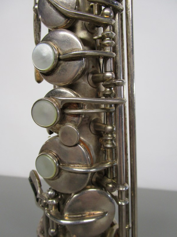 BUESCHER TRUE TONE LOW PITCH SOPRANO SAXOPHONE, CIRCA 1925/ 1926