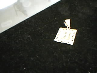 Gold Charm 14K Yellow Gold 1.9g