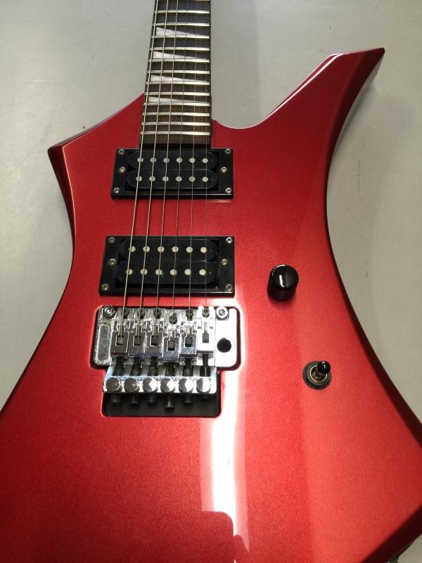 JACKSON Electric Guitar 6 STRING Metallic Red