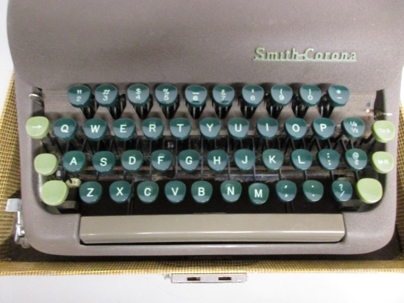 SMITH CORONA STERLING TYPEWRITER, c. 1950s