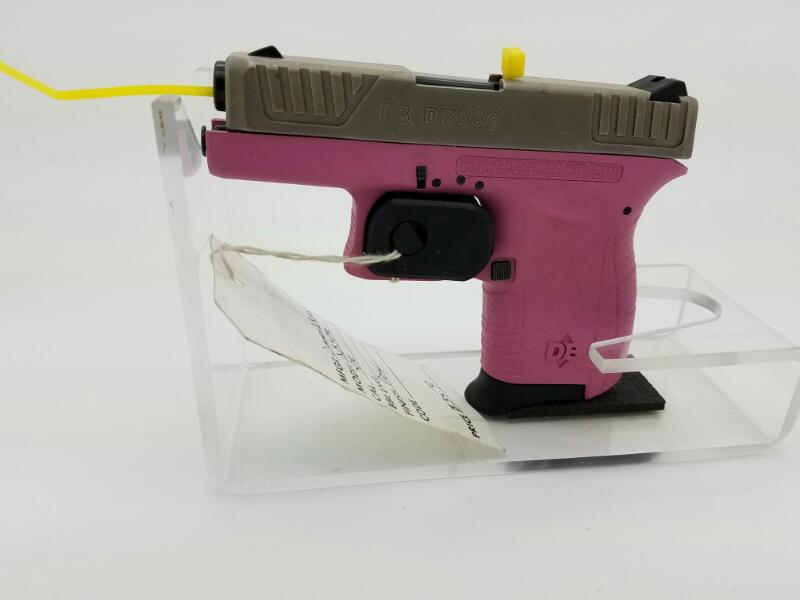 DIAMOND_BACK DB380 PISTOL-SEMI AUTO  380 ACP  PINK