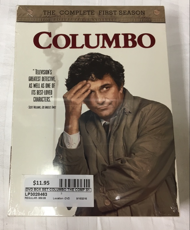 DVD BOX SET COLUMBO THE COMPLETE FIRST SEASON