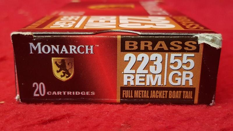 MONARCH AMMO Ammunition .223 55GR