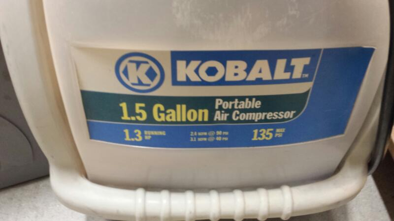 Kobalt Compressor K13015F Electric