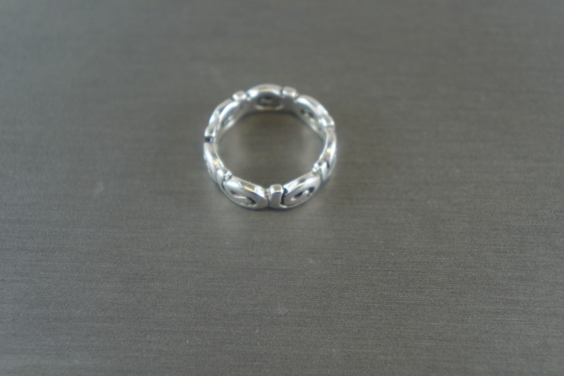 LADIES SILVER FASHION RING 925 3.5g Size:5