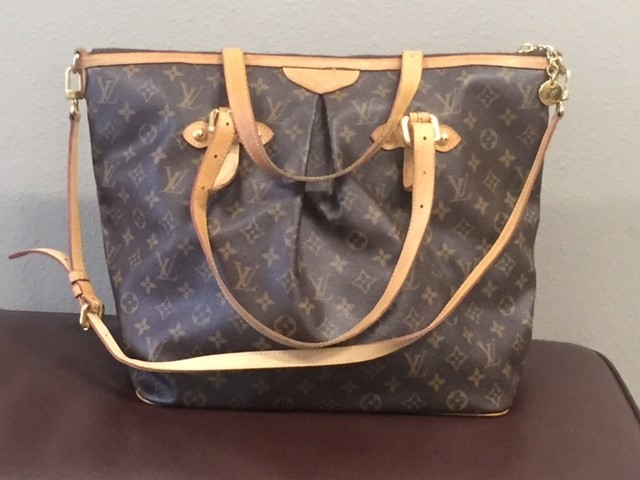 LOUIS VUITTON Handbag PALERMO GM MONOGRAM HANDBAG